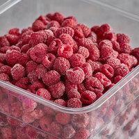 5 lb. IQF Organic Red Raspberries - 5/Case