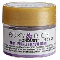 Roxy & Rich 4 Gram Royal Purple Fondust Hybrid Food Color
