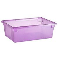 Carlisle 10622C89 StorPlus Purple Allergen-Free Food Storage Box - 26 inch x 18 inch x 9 inch