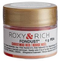 Roxy & Rich 4 Gram Christmas Red Fondust Hybrid Food Color