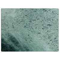 16 inch x 12 inch x 1/2 inch Green Marble Pastry Board