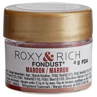Roxy & Rich 4 Gram Maroon Fondust Hybrid Food Color