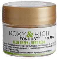 Roxy & Rich 4 Gram Neon Green Fondust Hybrid Food Color