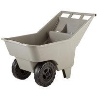 Rubbermaid FG370712907 Roughneck Beige Lawn Cart - 3.25 Cubic Foot