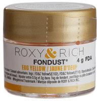 Roxy & Rich 4 Gram Egg Yellow Fondust Hybrid Food Color