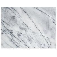 Fox Run 16 inch x 12 inch x 1/2 inch White Marble Pastry Board