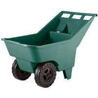 Rubbermaid FG370612714 Roughneck Green Lawn Cart - 4.75 Cubic Foot