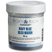 Roxy & Rich 50 Gram Navy Blue Fondust Hybrid Food Color