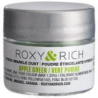 Roxy & Rich 2.5 Gram Apple Green Sparkle Dust