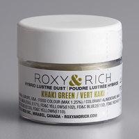 Roxy & Rich 2.5 Gram Khaki Green Lustre Dust
