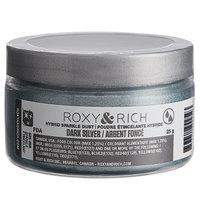 Roxy & Rich 25 Gram Dark Silver Sparkle Dust