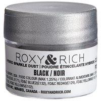Roxy & Rich 2.5 Gram Black Sparkle Dust