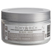 Roxy & Rich 25 Gram Nu Silver Sparkle Dust