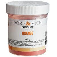 Roxy & Rich 50 Gram Orange Fondust Hybrid Food Color