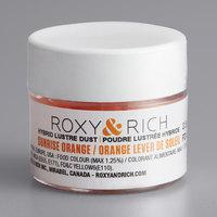 Roxy & Rich 2.5 Gram Sunrise Orange Lustre Dust