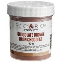 Roxy & Rich 50 Gram Chocolate Brown Fondust Hybrid Food Color