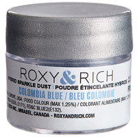 Roxy & Rich 2.5 Gram Colombia Blue Sparkle Dust