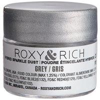 Roxy & Rich 2.5 Gram Grey Sparkle Dust
