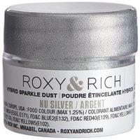 Roxy & Rich 2.5 Gram Nu Silver Sparkle Dust
