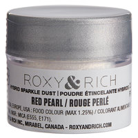 Roxy & Rich 2.5 Gram Red Pearl Sparkle Dust