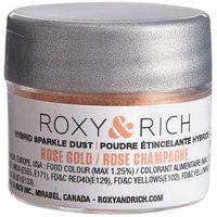 Roxy & Rich 2.5 Gram Rose Gold Sparkle Dust