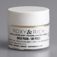 Roxy & Rich 2.5 Gram Gold Pearl Lustre Dust