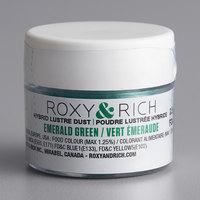Roxy & Rich 2.5 Gram Emerald Green Lustre Dust