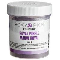 Roxy & Rich 50 Gram Royal Purple Fondust Hybrid Food Color