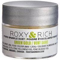 Roxy & Rich 2.5 Gram Green Gold Sparkle Dust