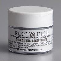 Roxy & Rich 2.5 Gram Dark Silver Lustre Dust