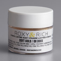 Roxy & Rich 2.5 Gram Soft Gold Lustre Dust