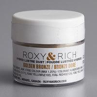 Roxy & Rich 2.5 Gram Golden Bronze Lustre Dust