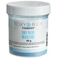 Roxy & Rich 50 Gram Sky Blue Fondust Hybrid Food Color