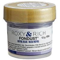 Roxy & Rich 12 Gram Royal Blue Fondust Hybrid Food Color