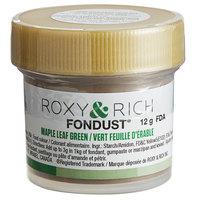 Roxy & Rich 12 Gram Maple Leaf Green Fondust Hybrid Food Color