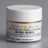 Roxy & Rich 2.5 Gram Old Gold Lustre Dust