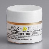 Roxy & Rich 2.5 Gram Canary Yellow Lustre Dust