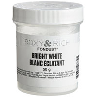 Roxy & Rich 50 Gram Bright White Fondust Hybrid Food Color