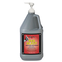 Kutol Pro 7702 Red Blast Cherry Scented Heavy-Duty Hand Cleaner with Pumice 1 Pump Gallon - 4/Case