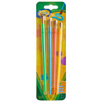 Crayola 53515 4-Assorted Color Brush Set
