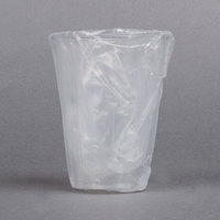 Dart Solo TP10DW UltraClear 10 oz. Hotel and Motel Individually Wrapped Clear Plastic Cups - 500/Case