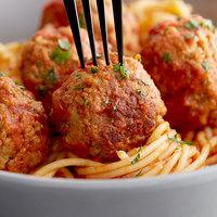 Devault Foods 1.5 oz. Mrs. DiFillippo's Mild Meatballs - 10 lb.
