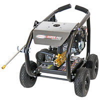 Simpson 65202 Super Pro Pressure Washer with Roll Cage, Simpson Engine, and 25' Hose - 3600 PSI; 2.5 GPM