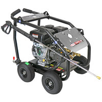 Simpson 65204 Super Pro Pressure Washer with Roll Cage, Kohler Engine, and 50' Hose - 4000 PSI; 3.5 GPM