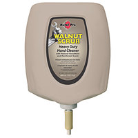 Kutol Pro 4768 Walnut Scrub Rainforest Scented Heavy-Duty Hand Cleaner with Natural Scrubbers 4000 mL / 4 L Cartridge for Kutol DuraView Dispensers - 2/Case