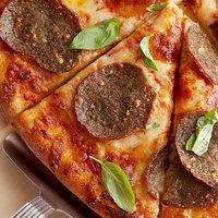 Fontanini Mamma Ranne's 0.33 oz. Italian Style Beef / Pork Meatball Slices - 15 lb.