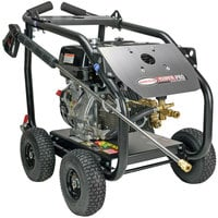 Simpson 65203 Super Pro Pressure Washer with Roll Cage, Honda Engine, and 50' Hose - 4000 PSI; 3.5 GPM