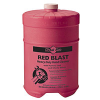 Kutol Pro 7707 Red Blast Cherry Scented Heavy-Duty Hand Cleaner with Pumice Flat Top 1 Gallon Container - 4/Case