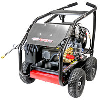 Simpson 65213 Super Pro Pressure Washer with Roll Cage, Honda Engine, and 50' Hose - 5000 PSI; 5 GPM