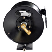 Simpson 80403 Black Steel Hose Reel for 3/8 inch x 200' Hi / Low Pressure Hoses